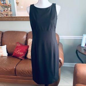 Rafaella black sleeveless dress size 6